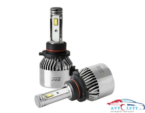 Комплект светодиодных ламп SVS HB3 серии C9 CSP-чип/IP68/4000Lm/5500K/9-32V/36W 1