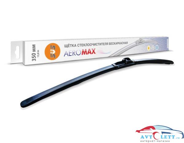 Щетка стеклоочистителя бескаркасная SVS серия AeroMax 350мм 1
