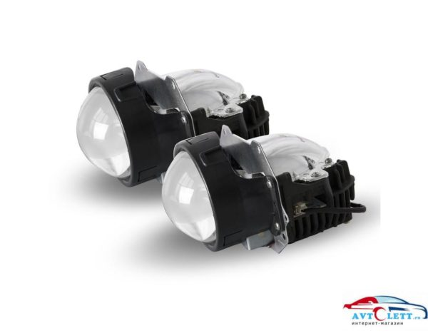 Комплекты BI-LED линз SVS (3,0 дюйма/26W/5300K/2600Lm/CSP-чип) 1