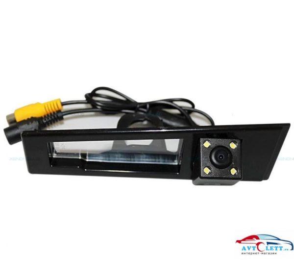 Камера заднего вида штатная Cadillac SLS{08-12} матрица CMOS, угол обзора 170, питание 12В, парк линии 1