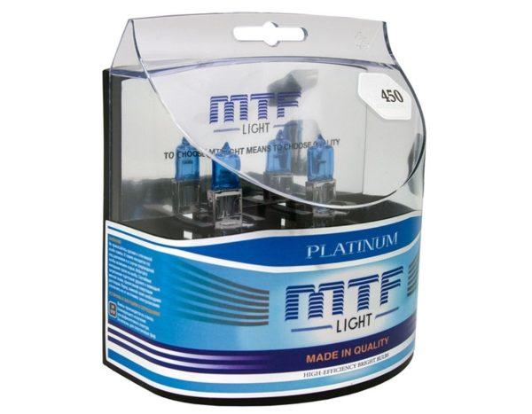 Комплект ламп MTF Light Н3 55W Platinum 1