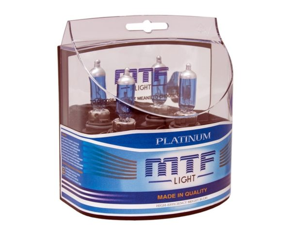 Комплект ламп MTF Light НB3 65W Platinum 1