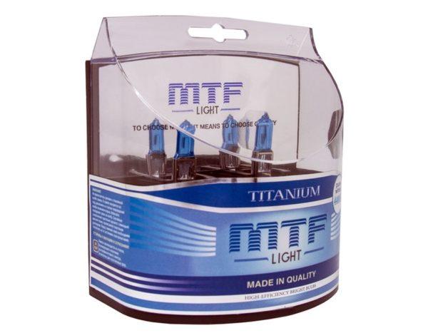 Комплект ламп MTF Light 880 27W Titanium 1