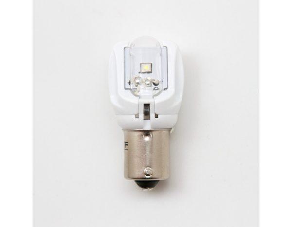 Лампа светодиодная MTF P21W, цвет красный, 12В, 2.6Вт, блистер 1