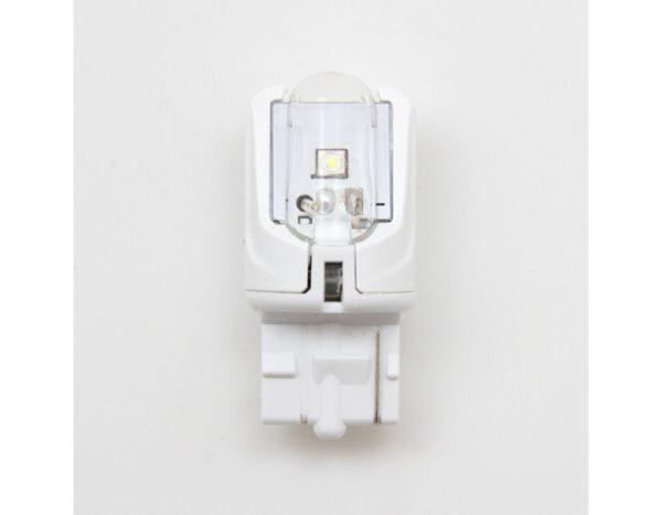 Лампа светодиодная W21W, цвет янтарный, 12В, 2.6Вт, блистер 1