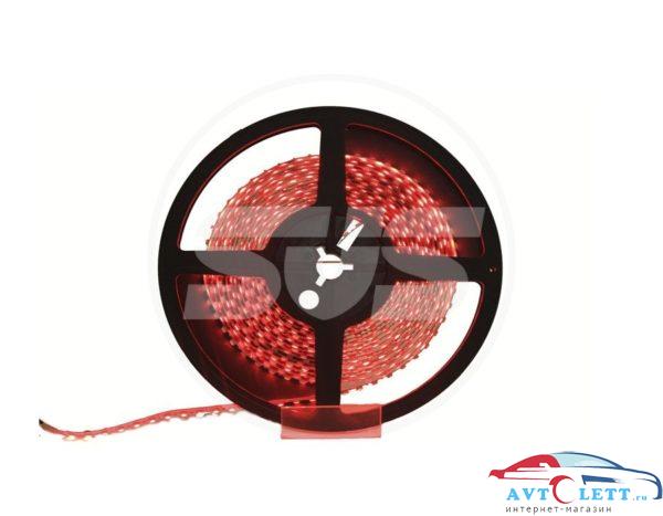 Светодиодная лента, 3528,120LEDs/M,9.6W/m, IP30, 12V DC - бобина Красная 1