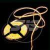 Светодиодная влагозащищенная лента, 3528,60LEDs/M,4.8W/M,12V DC,IP65 5M- бобина Желтая 3