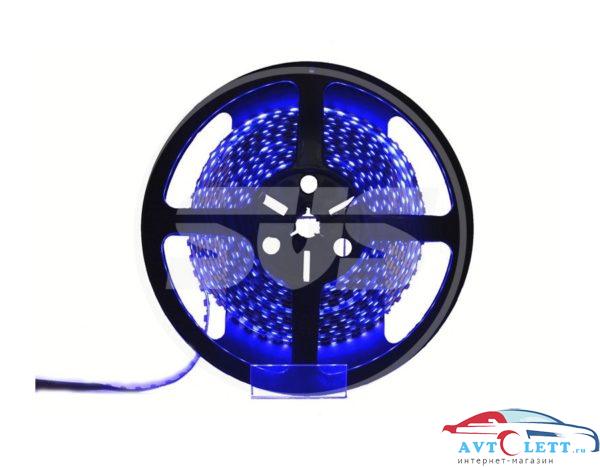 SVS Светодиодная лента 5050,30LEDs/M,7.2W/m,IP30,12V DC - бобина Синяя 1