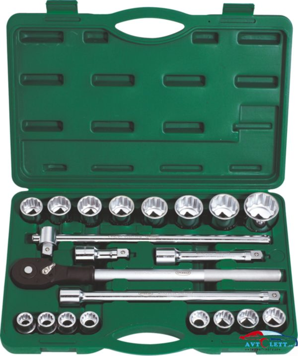 Набор инструмента для грузовиков с дюймовыми головками 23 предмет (AA-C341T23) Арсенал 1
