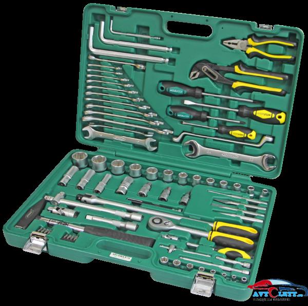 Набор инструмента для УАЗ 76 предметов (AA-C1412P76) Арсенал 1