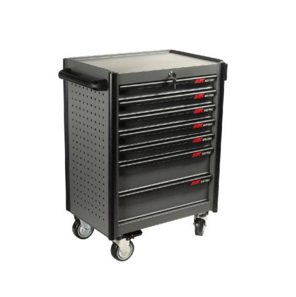 Тележка инструментальная JTC-5021 (7 секций) в комплекте с набором инструментов (344 предмета) JTC /1 1