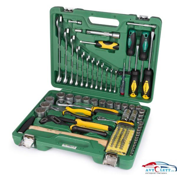 Набор инструмента 90 предметов AUTO (AA-C1412L90) Арсенал 1