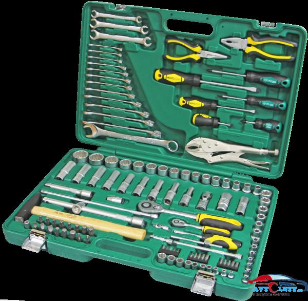 Набор инструмента 121 предмет AUTO (AA-C1412P121) Арсенал 1