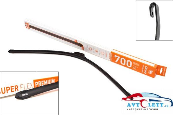 """Щетка Стеклоочистителя ClimAir SUPER FLEX PREMIUM 28"""" (700mm) 1"""