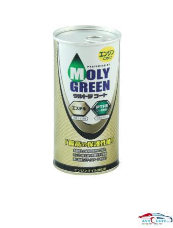 MOLY GREEN ULTRA COAT присадка в ДВС на основе тефлона 1