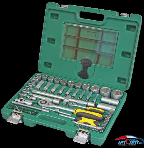 Набор инструмента 68 предметов AUTO (AA-C1412L68) Арсенал 1
