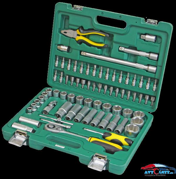 Набор инструмента 72 предмета AUTO (AA-C1412L72) Арсенал 1