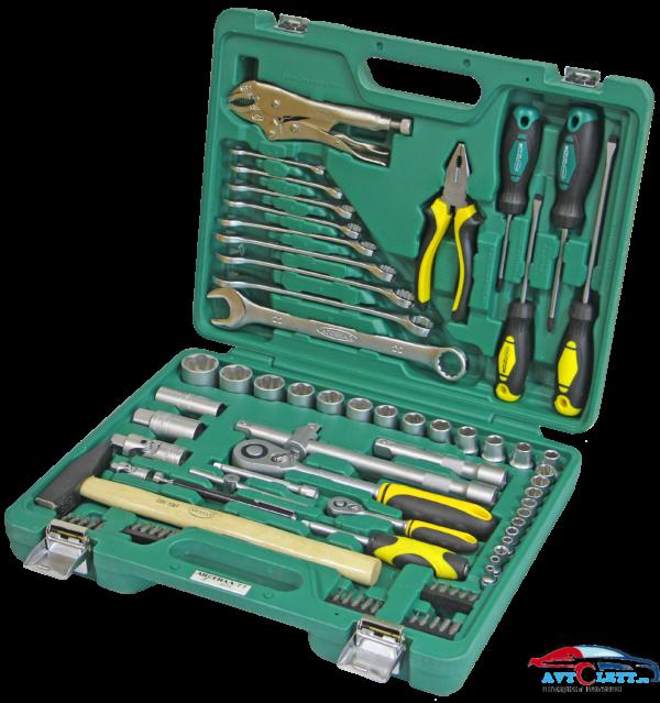 Набор инструмента 77 предметов AUTO (AA-C1412L77) Арсенал 1