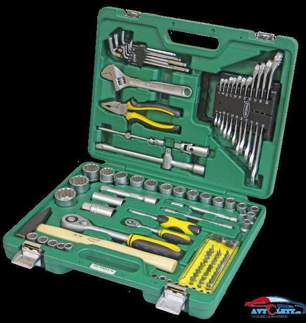 Набор инструмента 98 предметов AUTO (AA-C1412L98) Арсенал 1