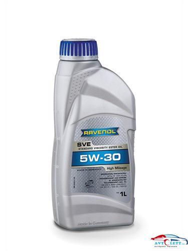 Моторное масло RAVENOL SVE Standard Viscosity Ester Oil SAE 5W-30 ( 1л) new 1