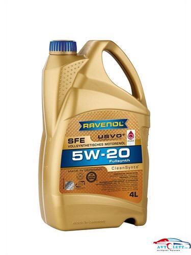 Моторное масло RAVENOL Super Fuel Economy SFE SAE 5W-20 ( 4л) new 1