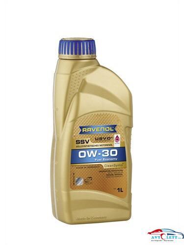 Моторное масло RAVENOL SSV Fuel Economy SAE 0W-30 ( 1л) new 1
