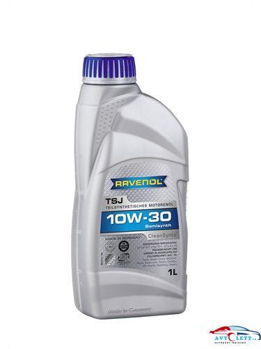 Моторное масло RAVENOL TSJ SAE 10W-30 ( 1л) new 1
