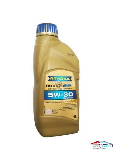 Моторное масло RAVENOL HDX SAE 5W-30 (1л) 1