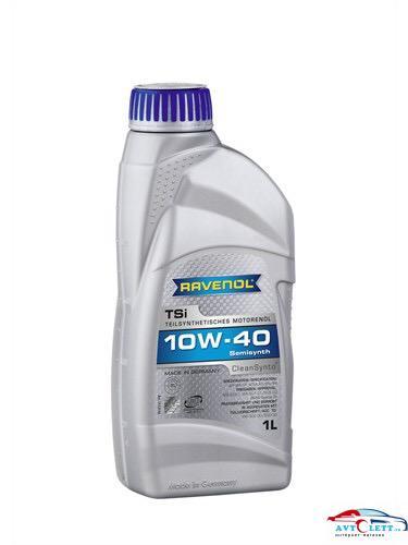 Моторное масло RAVENOL TSI SAE 10W-40 ( 1л) new 1