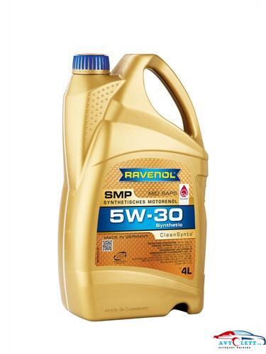 Моторное масло RAVENOL SMP SAE 5W-30 (4л) 1