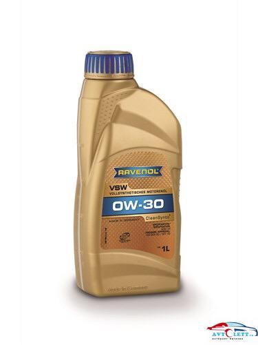 Моторное масло RAVENOL VSW SAE 0W-30 ( 1л) new 1