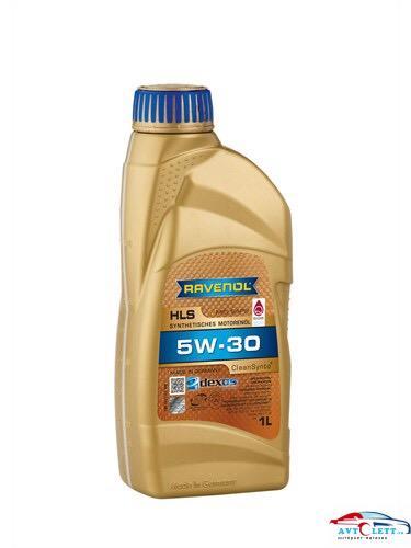 Моторное масло RAVENOL HLS SAE 5W-30 ( 1л) new 1