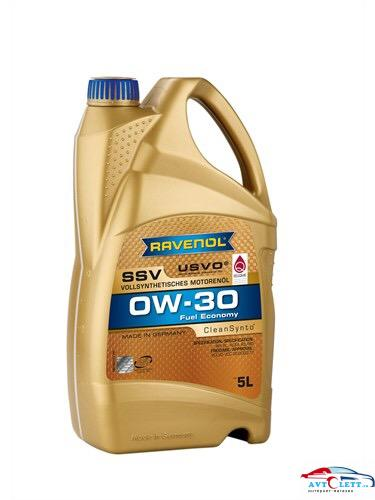 Моторное масло RAVENOL SSV Fuel Economy SAE 0W-30 ( 4л) new 1