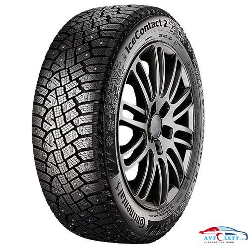 CONTINENTAL ContiIceContact 2 KD 245/40R18 97T XL FR шип