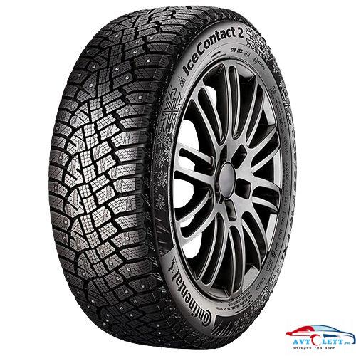 CONTINENTAL ContiIceContact 2 KD 215/50R18 96T XL FR шип