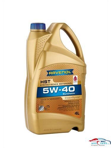 Моторное масло RAVENOL HST SAE 5W-40 (4л) 1