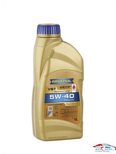 Моторное масло RAVENOL VST SAE 5W-40 ( 1л) new 1