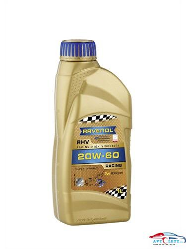 Моторное масло RAVENOL RHV Racing High Viscosity SAE 20W-60 (1л) 1