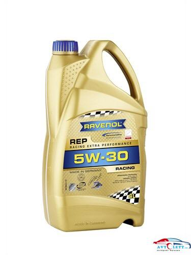 Моторное масло RAVENOL REP Racing Extra Performance SAE 5W-30 (4л) 1