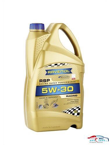 Моторное масло RAVENOL RSP Racing Super Performance SAE 5W-30 (4л) 1