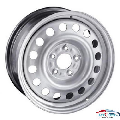 TREBL 8665T 5.5x15/5x139.7 ЕТ5 D108.4 Silver