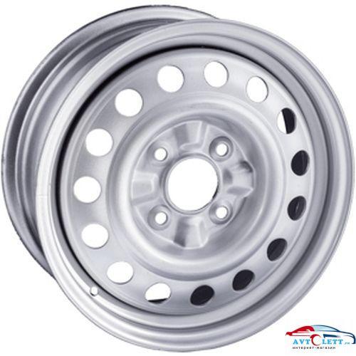TREBL X40038 5.5x15/4x100 ET43 D60.1 Silver