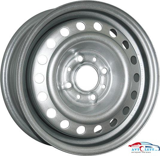 SDT U5043C 5.5x14/4x100 ET43 D60.1 Silver