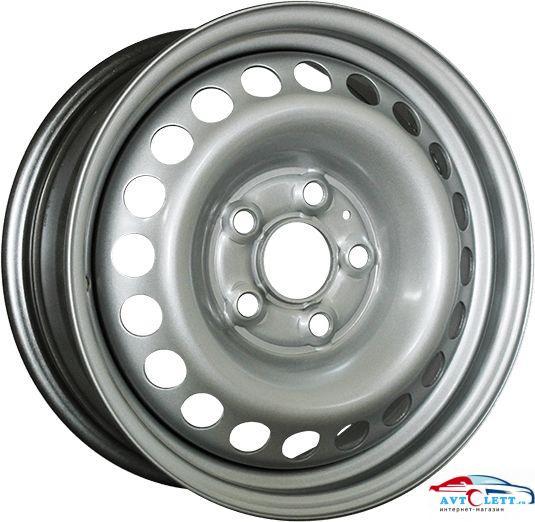 SDT U6073 6.5x16/5x114.3 ET50 D66.1 Silver