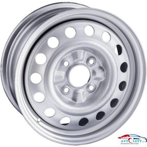 TREBL 8114_P 6x15/4x100 ET48 D54.1 Silver