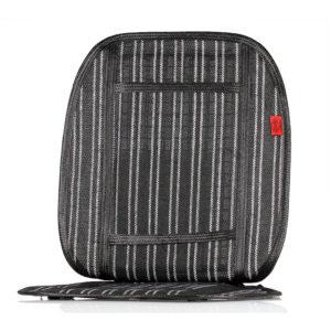 Накидка на сиденье охлаждающая (черный/белый)