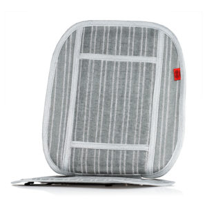 Накидка на сиденье охлаждающая (серый/белый)