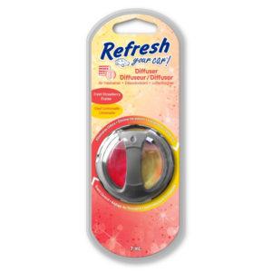 Ароматизатор диффузор Клубника/Прохладный Лимонад 1шт. х 7мл. Refresh Your Car!