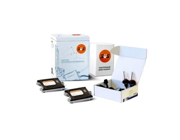 Комплект ксенонового оборудования (Блок SLIM AC 9-16В 35Вт-2шт, Лампа ксеноновая AC HB4 8000K-2шт) 1