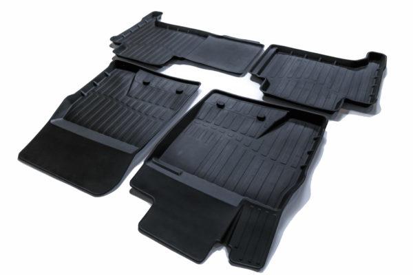 Коврики резиновые в салон 3D PREMIUM для Toyota LC200/Lexus LX570 (2007-) 1